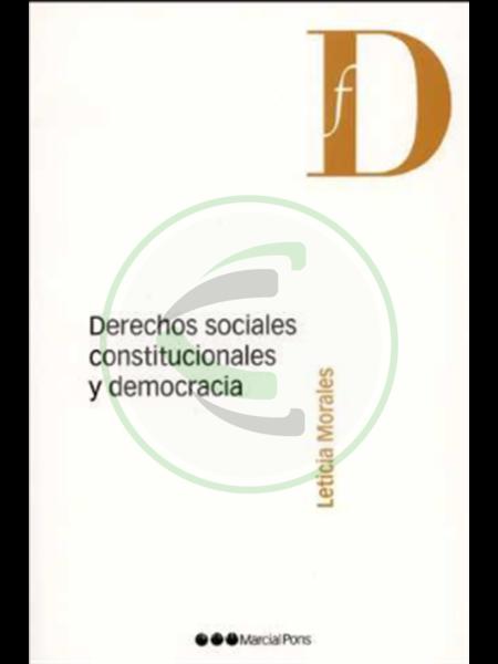Derechos sociales, constitucionales y democracia - Leticia Morales